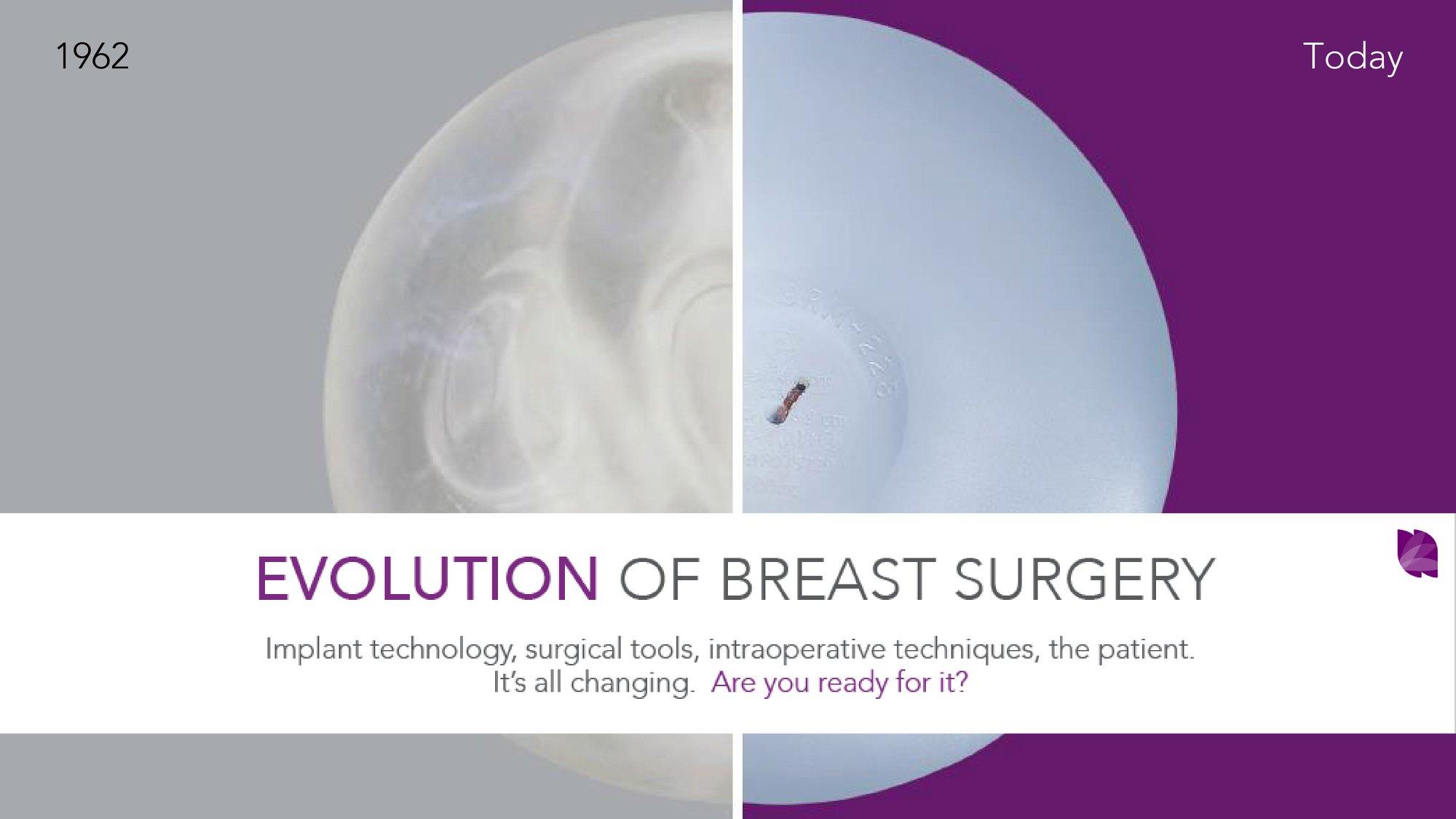 隆乳手術的演進